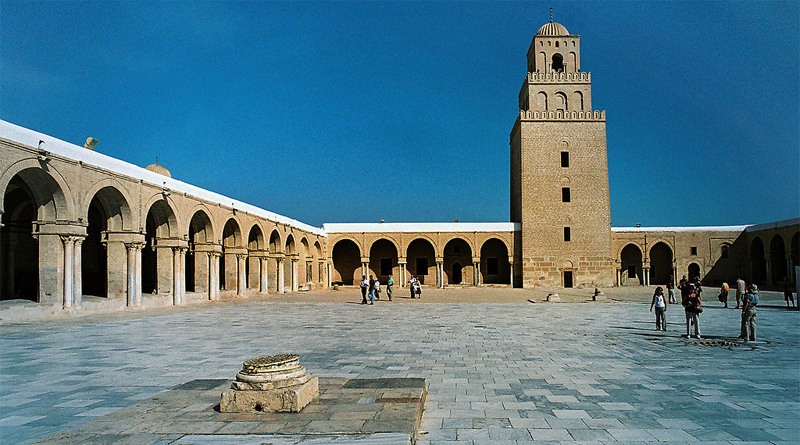 Große Moschee Kairouan, Innenhof