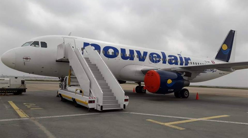 Nouvelair Airbus A320 TS-INT Außenansicht
