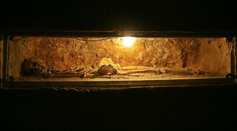 Grab in den Katakomben des Guten Hirten von Sousse