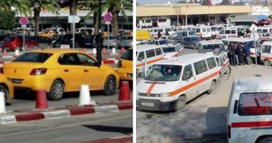 Symbolfoto Taxis und Louages