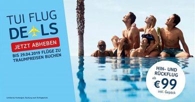 TUI Österreich - Für 99 Euro im Mai und Juni ab Wien nach Djerba oder Monastir