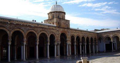 Innenhof der Ez-Zitouna Moscheen