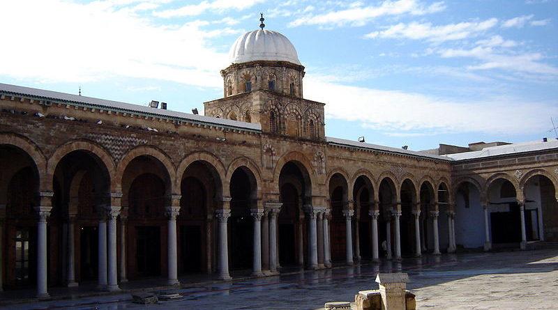 Innenhof der Ez-Zitouna Moschee