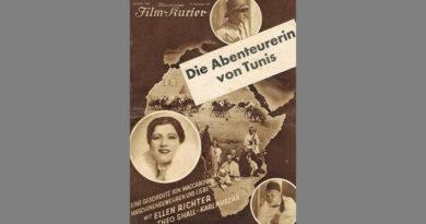 Die Abenteurerin von Tunis - Abenteuerfilm aus dem Jahre 1931
