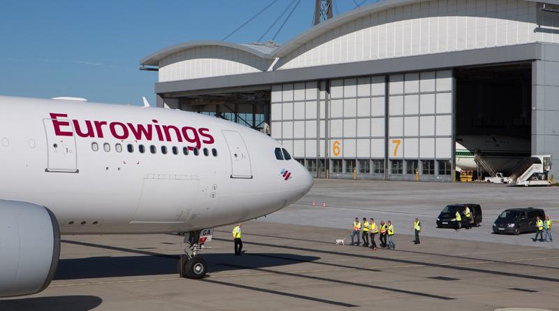 Symbolfoto Eurowings - Foto Eurowings Presse