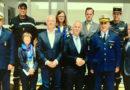Generalsekretär Goldgruber und ein Teil der östereichischen Delegation besuchten die tunesische Küstenwache in Sidi Bou Said - Bild: Innenministerium Tunesien