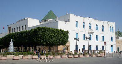 Palast El Bey, Sitz des Regierungspräsidenten - Foto: Par Rais67 — Travail personnel, Domaine public, https://commons.wikimedia.org/w/index.php?curid=7411295
