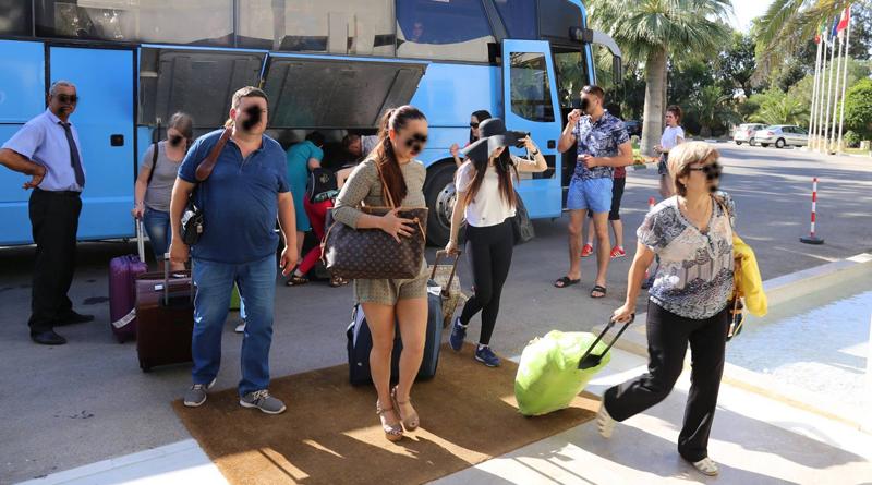 Touristen Symbolfoto