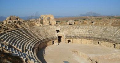 Amphitheater Oudhna Sanierung