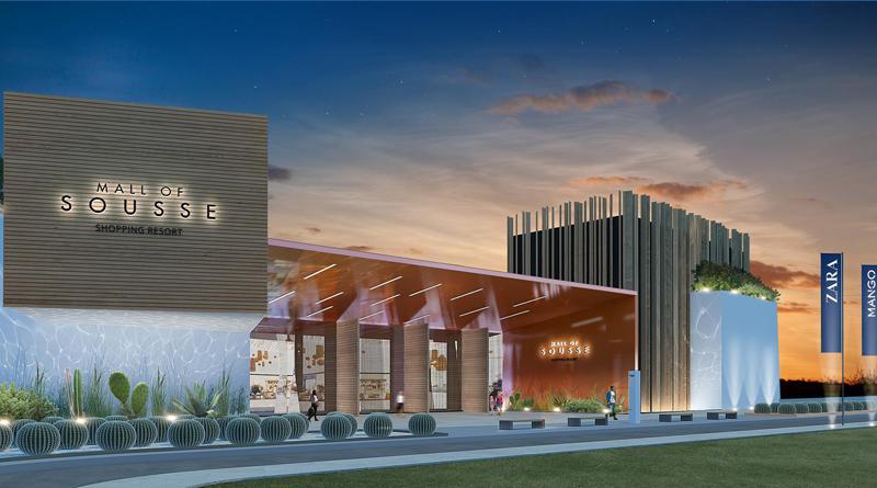 Sousse Mall - Grafik: Projektgesellschaft