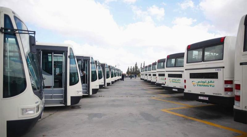Neue Busse der TRANSTU