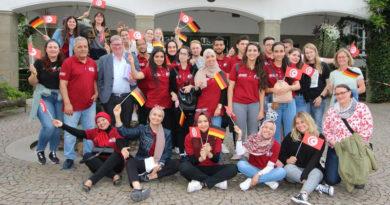 Hansestadt Attendorn empfängt Teilnehmer an deutsch-tunesischem Jugendaustausch