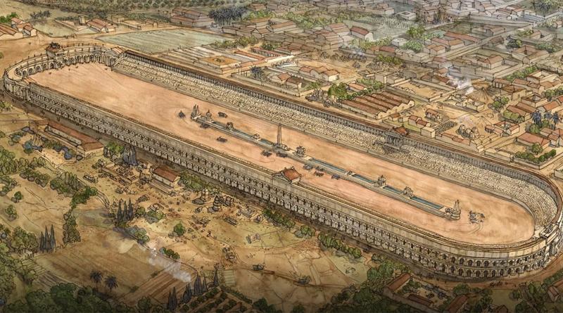 Der römische Zirkus von Karthago