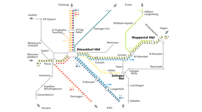 S11 Düsseldorf Flughafen Fahrplan