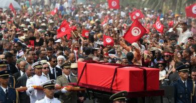 Der letzte Weg des Béji Caïd Essebsi