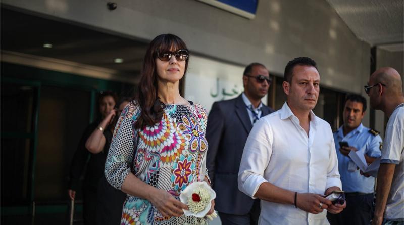 Schauspielerin Monika Bellucci in Tunesien - Foto: Ministerium für Tourismus