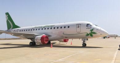 Jasmin Airways Embraer E-170 TS-IJB Narcisse - Zehn Rückführungsflüge