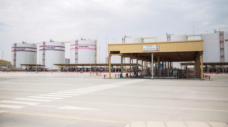 Flüssiggasspeicherzentrum in Ghannouch, Gabes