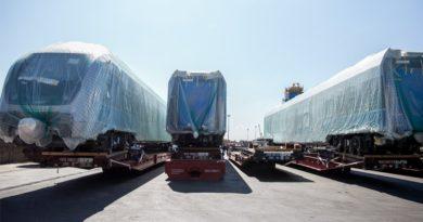 Weitere elektrische Züge für das Schnellbahnnetz Tunis (RFR) eingetroffen (Bilder)