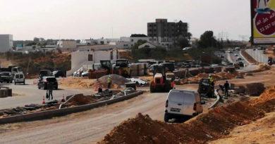 Straßenanschluss und letzte Arbeiten für die Sousse Mall - Foto: Sousse My Love