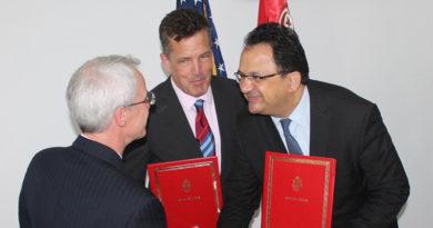 335 Mio US-Dollar als Spende für Tunesien von den USA im Zeitraum von 5 Jahren