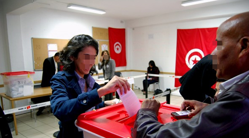 Wahlurne Tunesien Präsidentschaftswahlen 2019