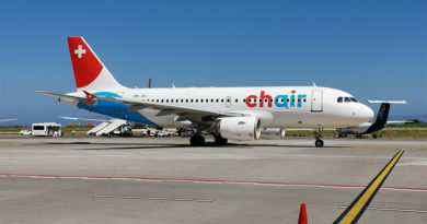 Airbus A319-112 (HB-JOJ) der Chair Airlines - Bild: Firat Cimenli - https://www.jetphotos.com/photo/9370730, CC BY-SA 4.0, https://commons.wikimedia.org/w/index.php?curid=81296673