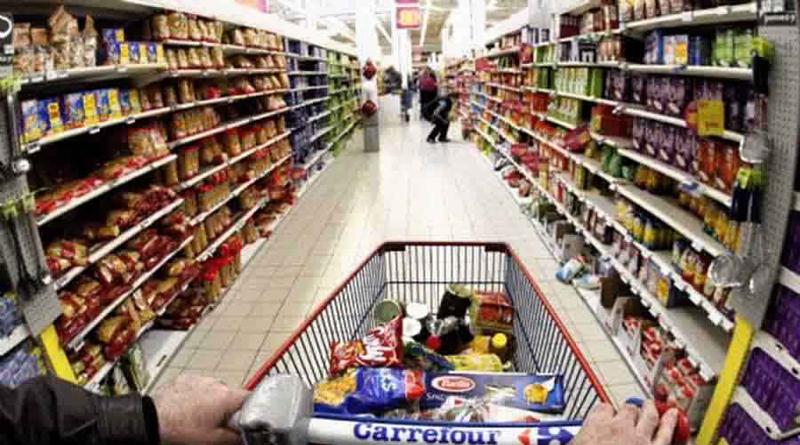 Symbolfoto Einkaufswagen