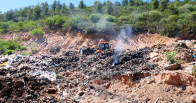 © Fraunhofer UMSICHT Die ungeordnete Ablagerung von Abfällen soll im Projekt verbessert werden