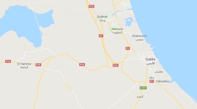 Nationalstraße 16 Gabès-El Hamma