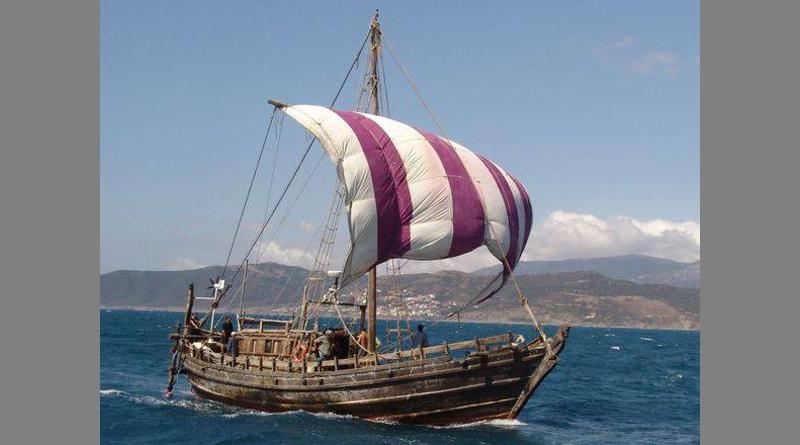 Segelschiff Phoenicia geht auf die große Reise nach Amerika - Phönizier vor Kolumbus