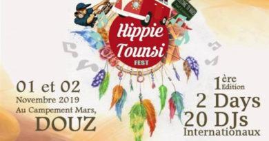 """Neues Festival in der Wüste - """"1. Hippie Tounsi"""" am 1. und 2. November 2019"""