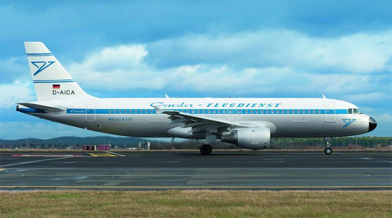 "A320 ""Hans"" in neuer Lackierung - Bild: Condor"