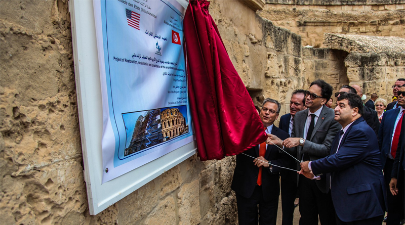 Projekt zur Restaurierung des Amphitheaters von El Jem wurde gestartet