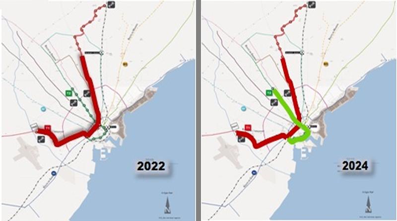 Ausbau der Metro Sfax bis 2024