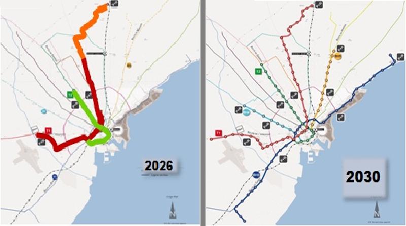 Ausbau der Metro Sfax bis 2030