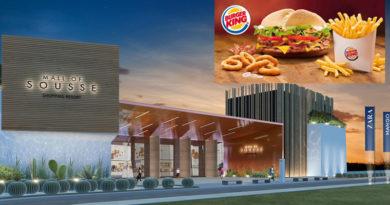 Erstes Burger King Restaurant Tunesiens soll in der Sousse Mall eröffnen