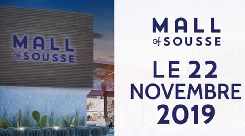 Einkaufszentrum Sousse Mall in Kalaa Kébira bei Sousse: Eröffnung für Fr., den 22. Nov. 2019 angekündigt