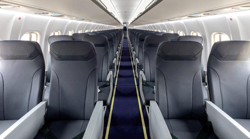 Kabine einer Maschine des Typs ATR72-600 von Tunisair Express