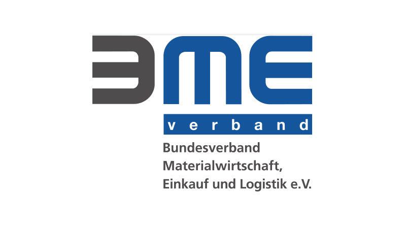 Logo Bundesverband Materialwirtschaft, Einkauf und Logistik e.V. (BME) - Bild: Von Bundesverband Materialwirtschaft, Einkauf und Logistik - http://www.bme.de/fileadmin/bilder/BME_Leitfaden_Asset_und_Lizenzmanagement_Cover%281%29.pdf, Logo, https://de.wikipedia.org/w/index.php?curid=6239695