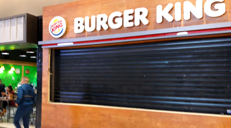 Burger King Restaurant in der Mall of Sousse
