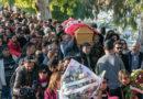 Ruhe in Frieden Lina Ben Mhenni.... Friedhof des Djellaz, Tunis; 28 Januar 2020 Foto-Kredit: Yassine Gaidi