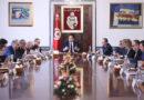 Sitzung des Ministerrats im Palast an der Kasbah am 31. Januar 2020 unter Youssef Chahed