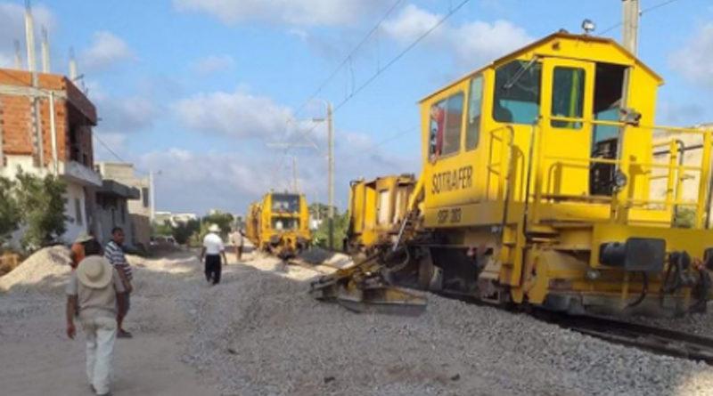 Tunesische Eisenbahn SNCFT: Bauarbeiten zwischen Sousse und Kalaa Sghira bis 31. Januar 2020