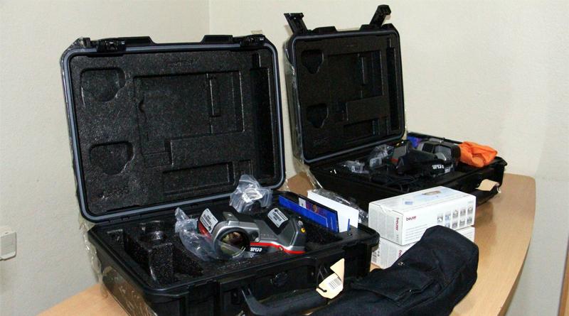 Thermokameras zur Messung der Körpertemperatur bei Einreise