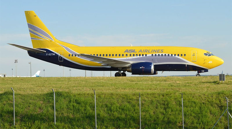 ASL Airlines France - Foto: Von Anna Zvereva from Tallinn, Estonia - ASL Airlines France, F-GZTM, Boeing 737-3B3 QC, CC BY-SA 2.0, https://commons.wikimedia.org/w/index.php?curid=50277682