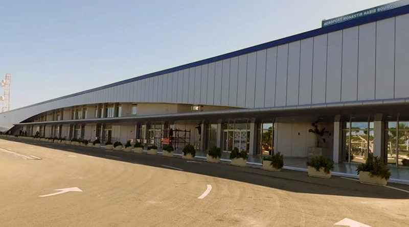Repatriierung Flughafen Monastir (MIR) - Neue Fassade