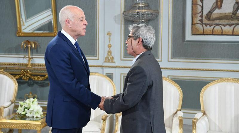 Präsident Kaïs Saïed empfängt Sadok Ben Mhenni, Vater der verstorbenen Lina Ben Mhenni
