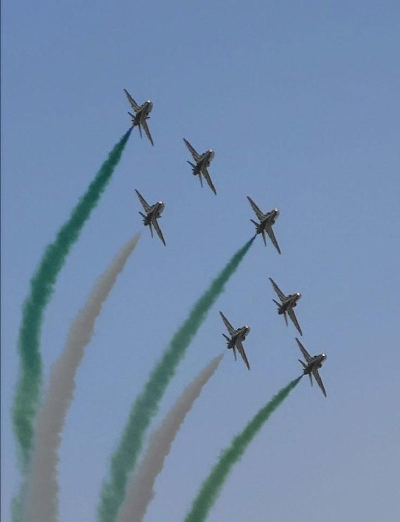 Die Saudi Hawks Aerobics - Bild: Tunisian Aircrafts Spotters