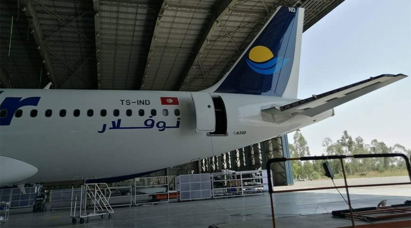Nouvelair Airbus A320-214 TS-IND